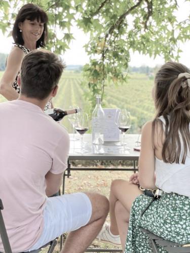 vigne au verre